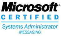 Microsoft Certified Systems Administrator Messaging Logo